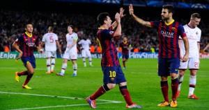 3 gol de Barca