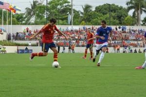 España v. Puerto Rico (20 de Agosto 2012) Foto por Oxalis Jusino