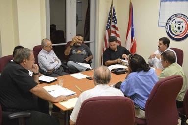 Foto suministrada de la noche del 20 de noviembre. El Sr. Luis Fiol estuvo presente via teléfono.