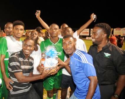Valencia Haitiano, equipo que clasificó a la Liga de Campeones 2013-2014 en la Copa de Campeones 2013 (Foto: Bahamas Weekly)
