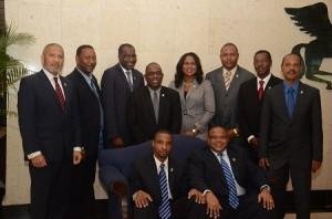 Comité Ejecutivo de la CFU  2013 (FOTO: CFU)