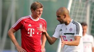 Kroos y Guardiola