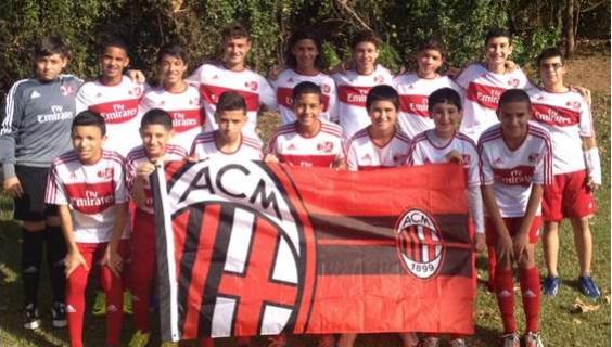 AC Milan Tasis U14. Foto: Suministrada