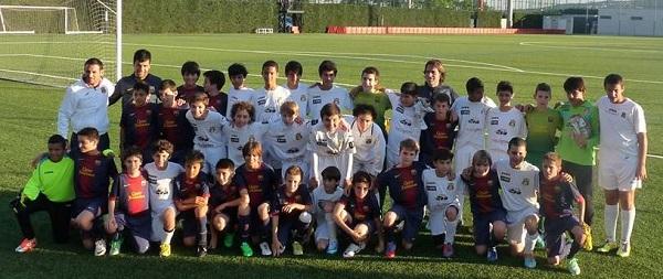 Equipo juvenil de EFFE que viajó en el 2013 a Barcelona. (Foto: Suministrada)