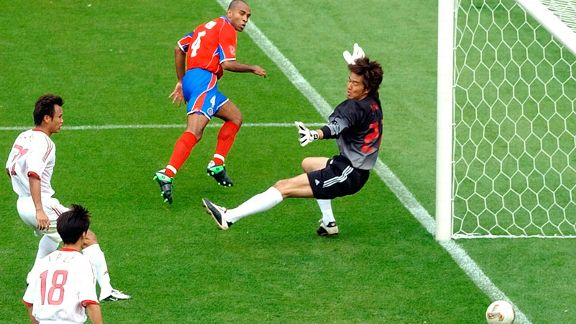 Resultado de imagen para gol mauricio wright Mundial  2002