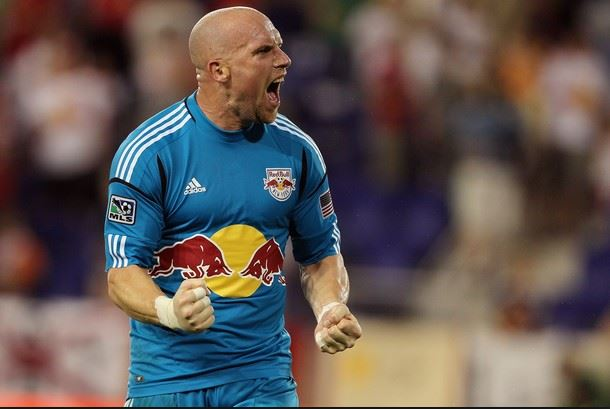 Bill Gaudette con el Red Bull New York de la MLS. (Foto: Suministrada)
