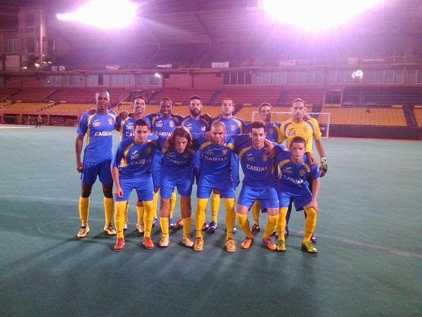 Criollos FC estrenando nuevo uniforme ante Levittown. Foto: Marvin Rivera