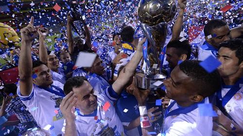 "Metapán celebra su ""Novena"" (Foto: Marvin Recino/edhdeportes.com)"