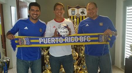 Ignacio Rodríguez, Héctor Maldonado, y Alberto Santiago (Foto: Suministrada)