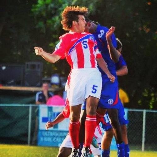 Puerto Rico v. Bahamas en eliminatoria Mundialista Sub17. Foto: Bahamas FA