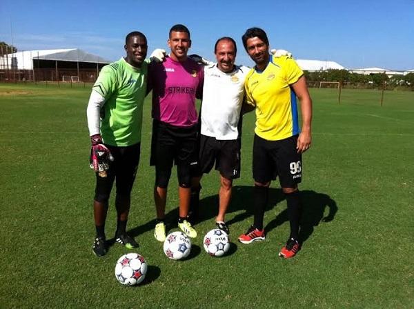 Eric Reyes con los Fort Lauderdale Strikers. Foto: Suministrada