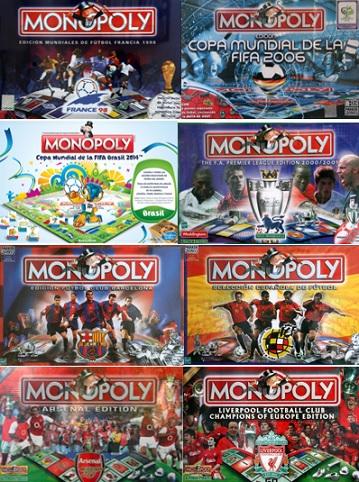Monopoly futbolero