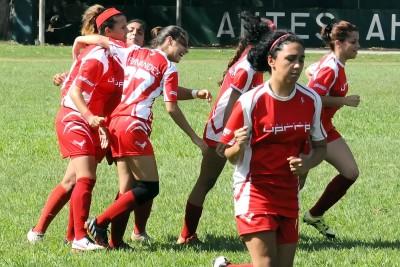 Las Jerezanas de la UPR de Río Piedras retarán a las campeonas Tigresas de la Interamericana en las semis de fútbol femenino. (L. Minguela LAI)