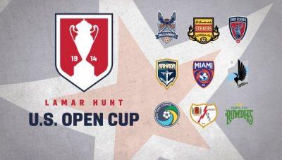 NASL Clubes En USOpenCup2016