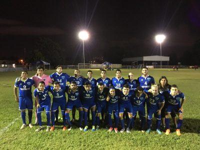 Foto grupal del Metropolitan Football Academy tomada previo al partido ante el Atlético Fajardo. Suministrada