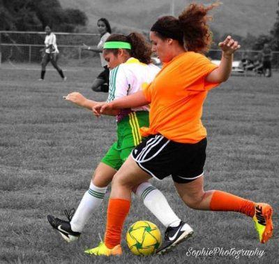 Acción durante el Torneo Apertura dle Circuito de Desarollo. (Foto cortesía de Sophia Alejandra de Sophia Photography Yabucoa)
