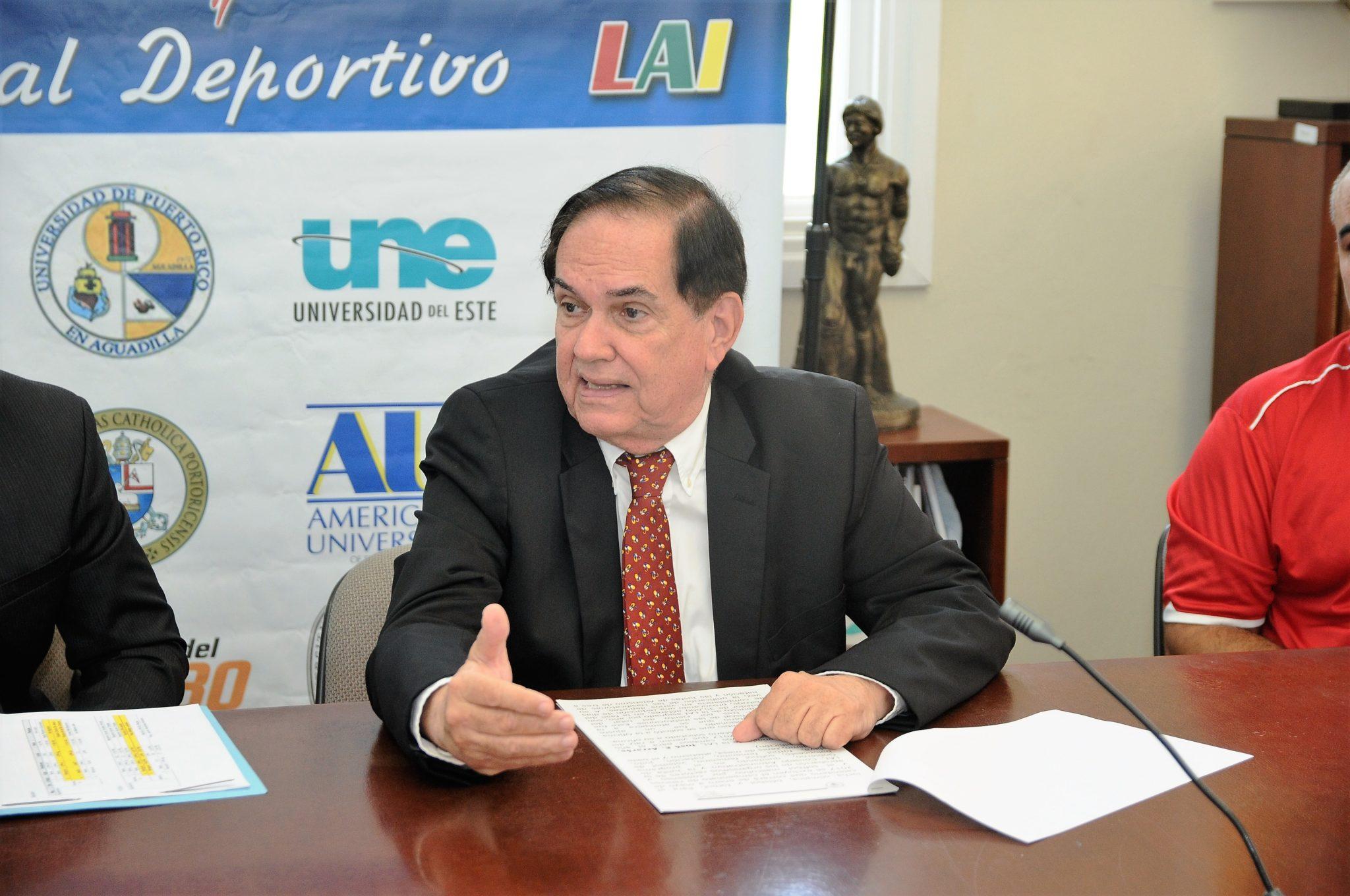 José E. Arrarás, comisionado de la LAI. (L. Minguela LAI)