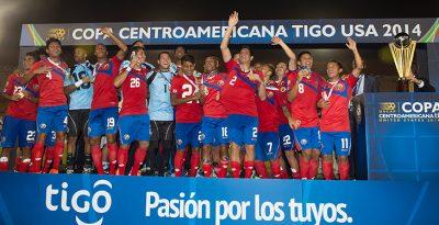 Los ticos son los actuales campeones centroamericanos. Por CONCACAF.com