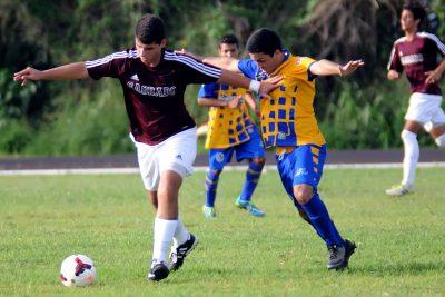 Los Delfines de Sagrado eliminaon 10-0 a los Tiburones de la UPR de Aguadilla para pasar a los cuarto de finales. (L. Minguela LAI)