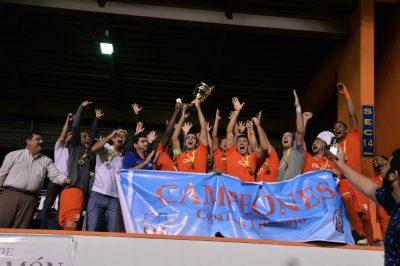 Puerto Rico FC celebrando su campeonato de la Copa Luis Villarejo. Suministrada