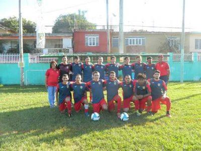 Caguas Sporting en su debut ante Don Bosco en la Copa Don Bosco. Suministrada