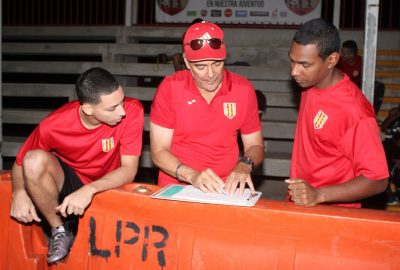 Oscar Rosa en práctica de Sporting. Suministrada