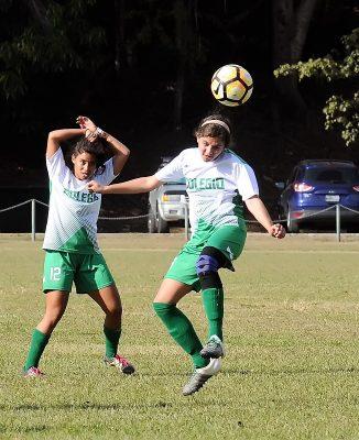Las Juanas del Colegio derrotaron 2-0 a la UPR de Cayey. (Archivo L. Minguela)