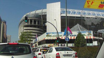 Estadio Santiago Bernabeu. por Edwin R. Jusino