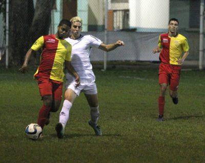 Caguas Sporting y el Ballista Luquillo en partido de la jornada 2. Suministrada
