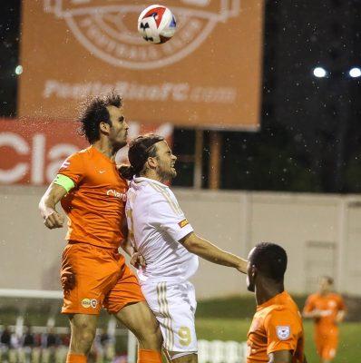 Puerto Rico FC recibió al North Carolina FC en la jornada de ayer de la NASL. Suministrada NASL