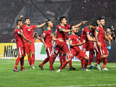 BOGOR-INDONESIA- Match photo during AFF Suzuki Cup 2016 Final Rounds Final Leg1 between Indonesia v Thailand at the Stadion Pakansari Bogor, Indonesia on December 14, 2016. Picture by Thananuwat Srirasant/Lagardere Sport.