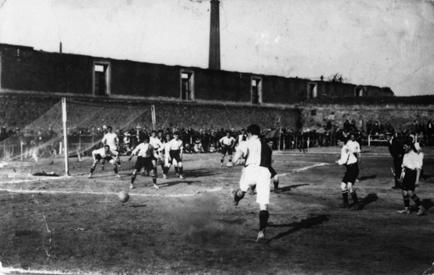 Corralón de Gaiteira, escenario de los partidos de rivalidad entre Club Deportivo y Club Coruña. por Universidad de Navarra.