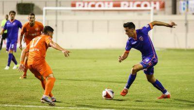 Momento del partido entre el Puerto Rico FC y el Miami FC. Suministrado NASL