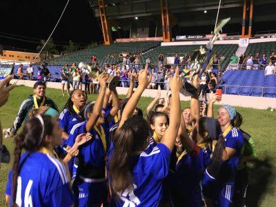 Las Criollas de Caguas del Criollos FC se proclamaron campeonas de la Copa Nacional Femenina el pasado sábado. Suministrada