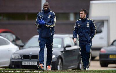Demba Ba y Eden Hazard anunciaron hoy estarán invirtiendo en una franquicia de la NASL. Foto por Chelsea FC
