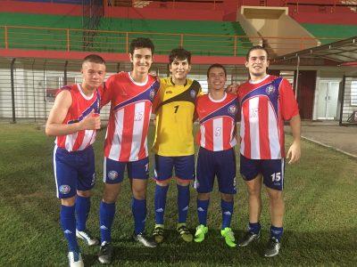 Los juveniles de la Selección Nacional mayor de Puerto Rico. Suministrada
