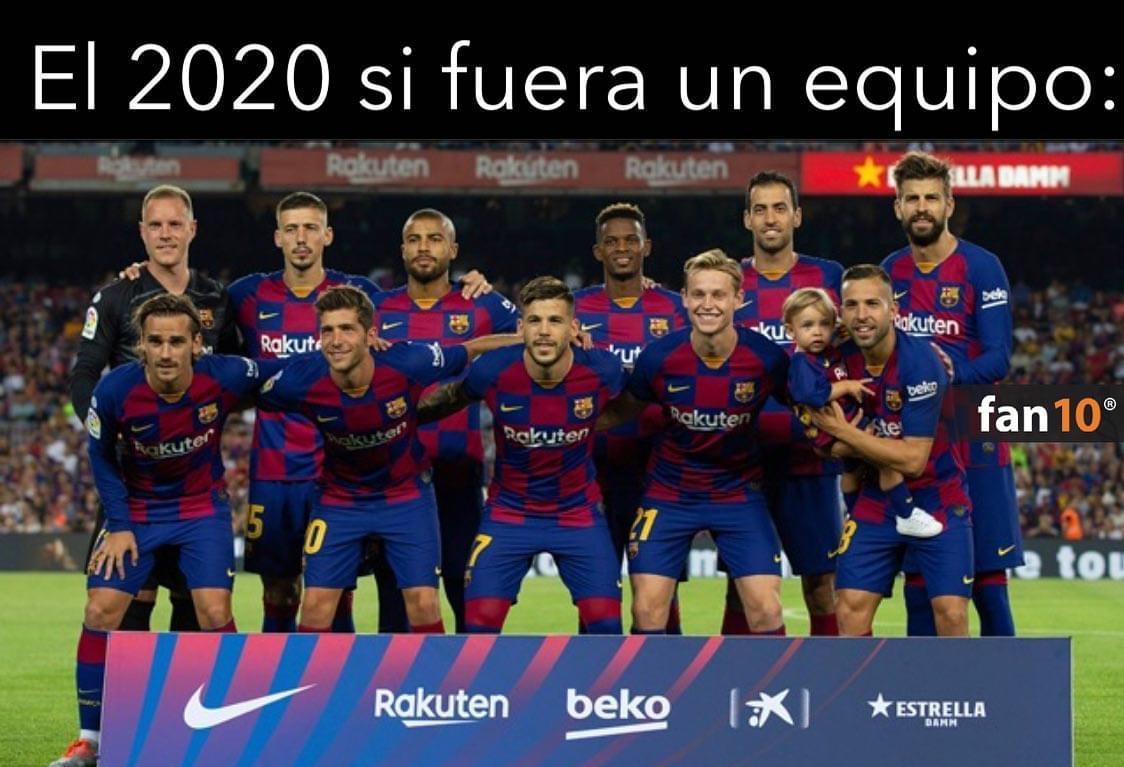¿Piensas que el FC Barcelona de esta temporada es como el 2020?