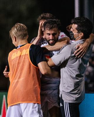 Diego Rossi celebrando anotación. Archivo MLS