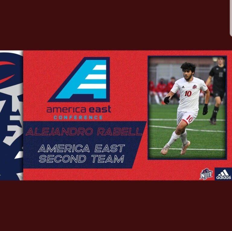 Termina la temporada colegial de Alejandro Rabell en las semifinales de la American East Conference
