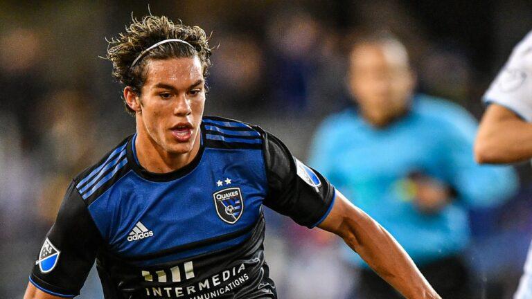 Cade Cowell, delantero de San Jose Earthquakes de 17 años y raíces mexicanas, es elegido Jugador de la Semana de la MLS
